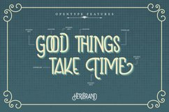 Heribrand   Classic Vintage Font Product Image 4