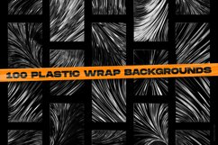 Abstract geometric shapes & Plastic wrap backgrounds bundle Product Image 6