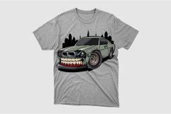 race car with a building background Product Image 2