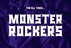 Monster Rock font - Monsta Rocka Product Image 1