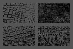10 Crocodile Leather Texture Overlay Product Image 4