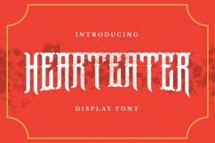 Hearteater Font Product Image 1