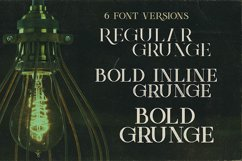 Green Light - Vintage Style Font Product Image 4
