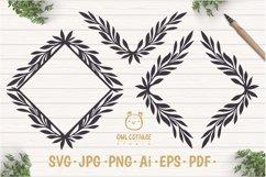 Laurel Leaves SVG Bundle, Floral Decor Bundle, Wedding Decor Product Image 5