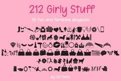 212 Girly Stuff Dingbat Font Product Image 1