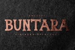 Web Font Buntara Display Font Product Image 1