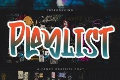 Web Font Playlist - Fancy Graffiti Font Product Image 1