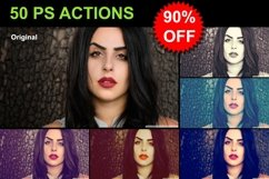 50 PS Actions - MEGA SALE Product Image 1