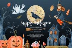 Happy Halloween watercolor set Product Image 1