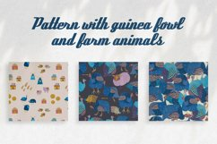 Patterns with guinea fowl Product Image 1