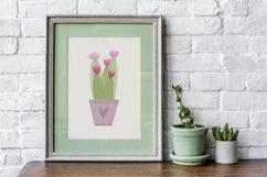 Potted house plants clip art set for your unique design Product Image 3
