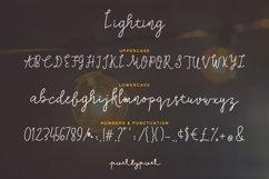 Lighting Script Font Product Image 4