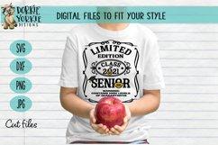 Quarantined Edition Class of 2021 - Senior - Graduation SVG Product Image 2