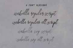 Isabella SVG Script Font Product Image 2