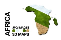 3D Maps Images Dry Earth Snow Grass Terrain JPG Bundled Product Image 2