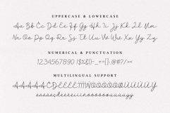 Clarisa Script Font Product Image 5