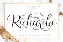 Richardo Script Product Image 1