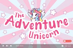 Unicorn Fold - Display Font Product Image 4