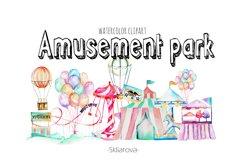 Amusement park clip art Product Image 1