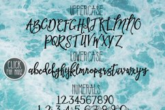 Mermaid Tails a Handwritten Typeface Product Image 2