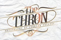 Thron Font Product Image 4