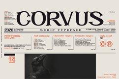 CORVUS Serif font Family Product Image 1