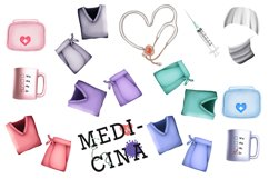 Medical clipart, Nurse clipart, Doctor clipart, Medical Product Image 2
