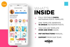 Colorful fashion Instagram 18 Posts Template | CANVA Product Image 4