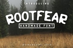 Rootfear Handmade Font Product Image 1