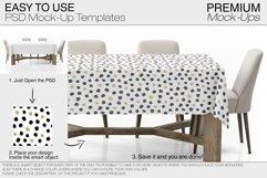 Tablecloth Mockup Set Product Image 5