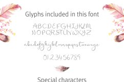 Featherly Font - wedding font Product Image 3