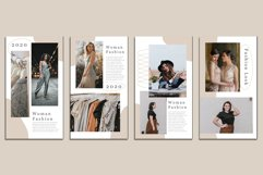 Fashion Instagram Templates Vector Product Image 6