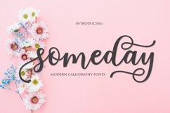 someday script Product Image 2