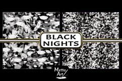 Black Nights - 10 Digital Papers/Backgrounds Product Image 4