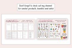 Printable Calendar, Crystal Planner, Undated Calendar - PDF Product Image 3