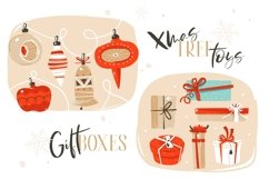 Merry Christmas illustrations Product Image 3