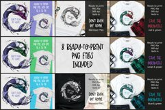 Mermaid T-shirt Design, Mermaid PNG, Plastic Pollution Art Product Image 2