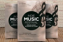 Indie Music Festival Flyer Product Image 1