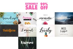 109 in 1 BEST FONT BUNDLE Product Image 6