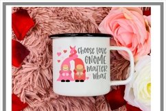 Choose Love Gnome Matter What Nordic Gnome Design Product Image 2