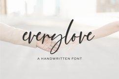 Everylove Script Product Image 1