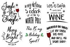 Wine Bundle Svg Cut Files Product Image 2