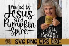 SVG -Jesus - Pumpkin Spice - SVG PNG EPS DXF Product Image 1