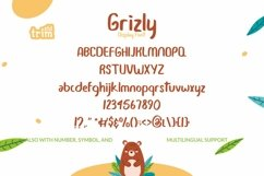Grizly - Cheerfull Display Font Product Image 5