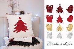 Buffalo plaid Christmas, shapes, sublimations Product Image 2