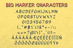 Big Marker Font Family Product Image 3