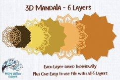 3D Mandala Bundle | 3D Layered Mandala SVG Bundle Product Image 6
