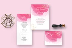 Classy watercolor wedding Suite Product Image 3