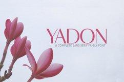 Yadon Sans Serif Typeface Product Image 1