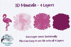 3D Mandala Bundle | 3D Layered Mandala SVG Bundle Product Image 10